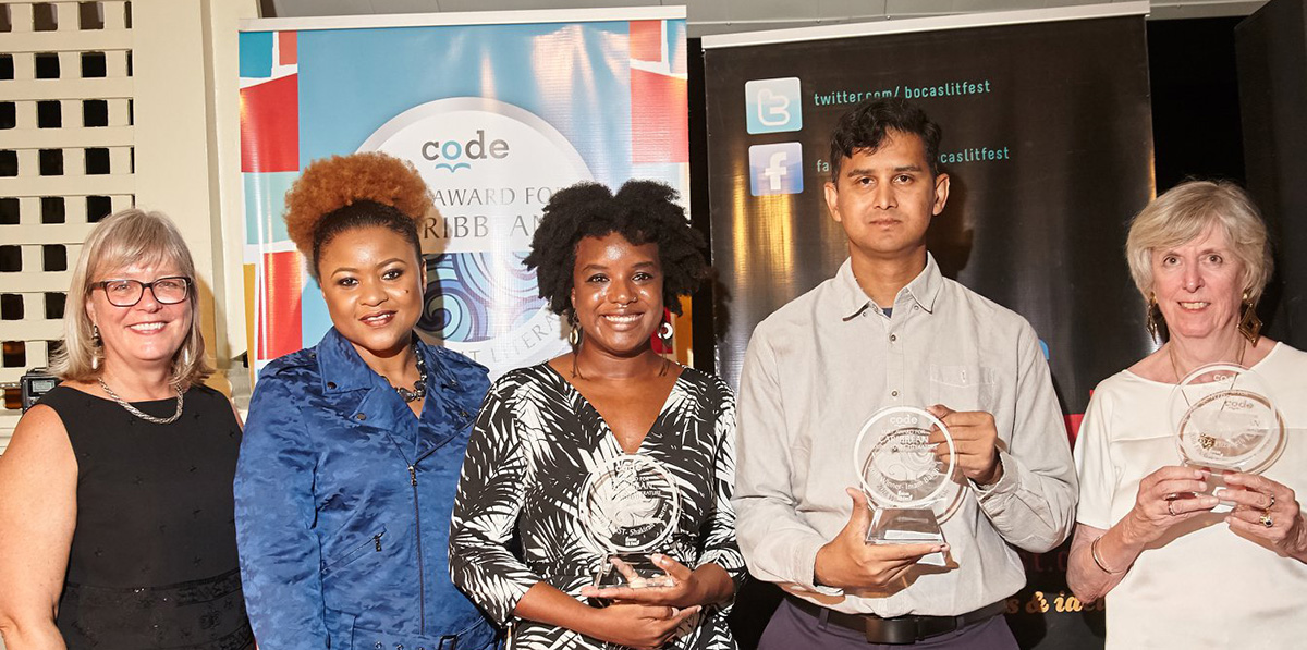Caribbean Burt Award 2018 winner and finalists