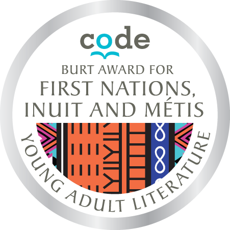 Burt Award First Nations, Inuit and Métis Young Adult Literature seal